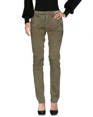 Повседневные брюки CAMBIO. Цвет: зеленый-милитари