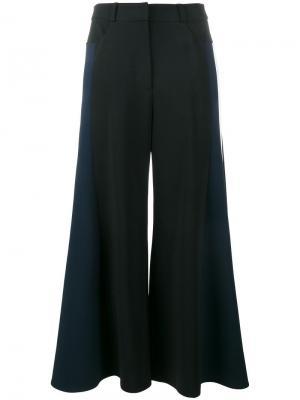 Укороченные широкие брюки Peter Pilotto. Цвет: чёрный