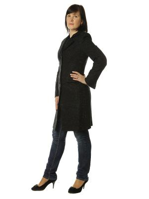 Пальто AURORA. Цвет: черный