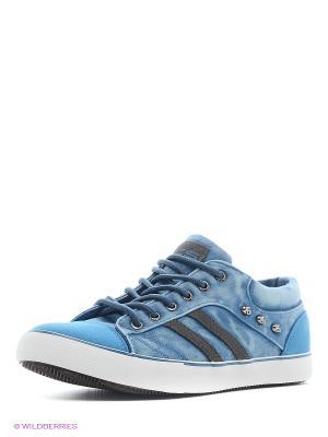Кеды HCS. Цвет: голубой