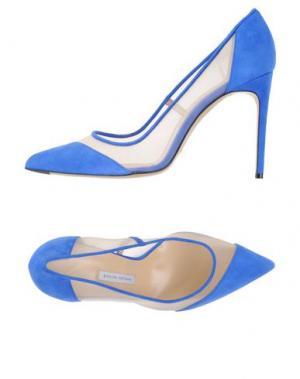 Туфли BIONDA CASTANA. Цвет: синий
