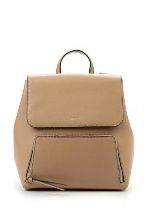 Рюкзак DKNY. Цвет: бежевый