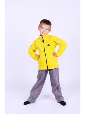 Кофта Радуга ЛисФлис. Цвет: желтый