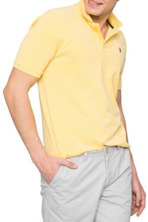 Футболка-поло U.S. Polo Assn.. Цвет: vr035 желтый