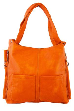 Сумка Vera bags. Цвет: оранжевый