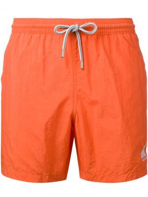 Шорты для плавания Capricode. Цвет: жёлтый и оранжевый