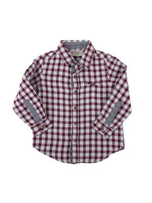 Рубашка SILVERSUN. Цвет: красный