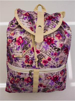 Рюкзак женский lawiggi. Цвет: сиреневый