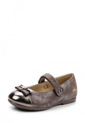 Туфли Chicco. Цвет: коричневый