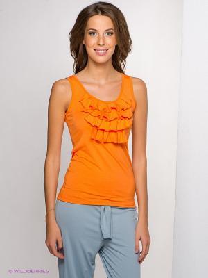 Майка LingaDore. Цвет: оранжевый