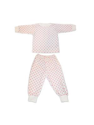 Пижама кулирка КиСса. Цвет: розовый, белый