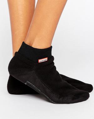 Hunter Теплые носки. Цвет: черный