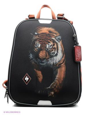 Рюкзак STERNBAUER. Цвет: черный, оранжевый