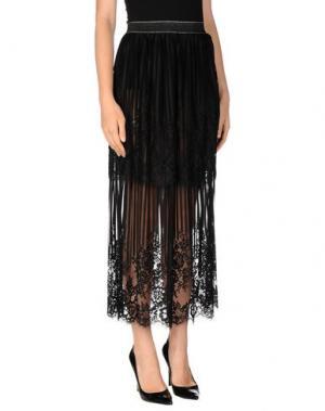 Длинная юбка DV Roma. Цвет: черный