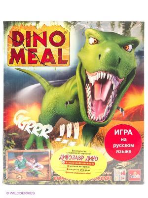 Настольная игра Динозавр Дино GOLIATH. Цвет: зеленый, серый