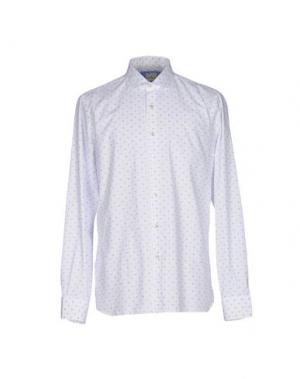 Pубашка DOMENICO TAGLIENTE. Цвет: белый