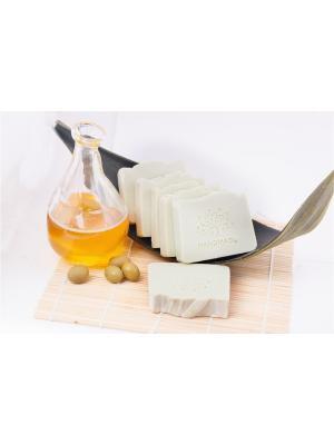 Натуральное мыло - Природная серия Кастильское (оливковое) Entourage. Цвет: светло-желтый