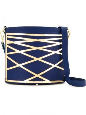 Маленькая сумка на плечо Riley Rula Galayini. Цвет: синий