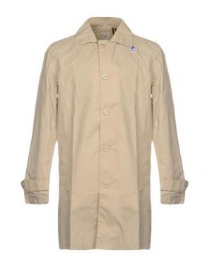 Легкое пальто K-WAY. Цвет: песочный