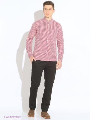 Рубашка MERC. Цвет: красный