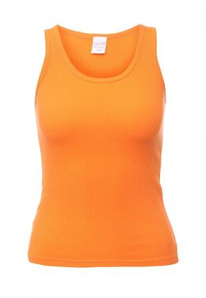 Майка JDL Star. Цвет: оранжевый