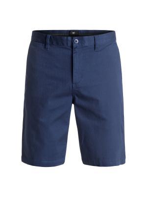 Бермуды DC Shoes. Цвет: синий, темно-синий