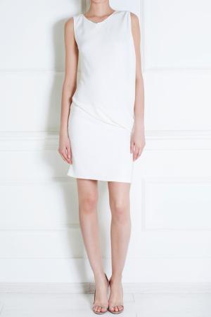 Платье из вискозы Jay Ahr. Цвет: белый