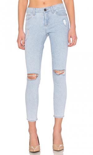 Укороченные джинсы margaux DL1961. Цвет: none