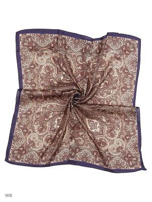Платок Stilla s.r.l.. Цвет: коричневый