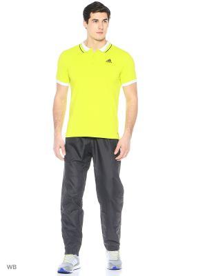Футболка ESS POLO  SESOSL/BLACK Adidas. Цвет: желтый