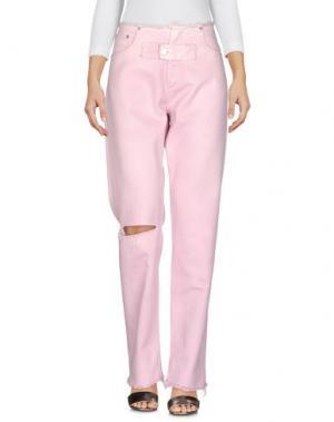 Джинсовые брюки ALYX. Цвет: розовый