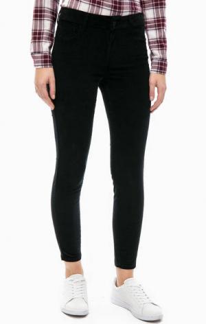 Вельветовые брюки черного цвета Mavi. Цвет: черный