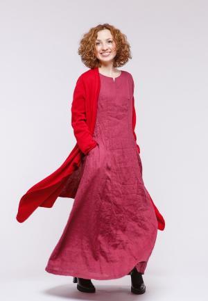 Платье Kayros. Цвет: розовый