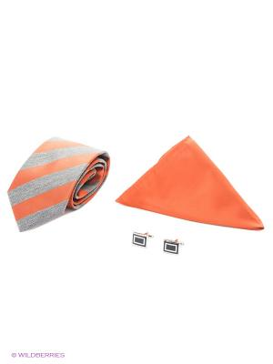 Набор Alex DANDY. Цвет: белый, оранжевый