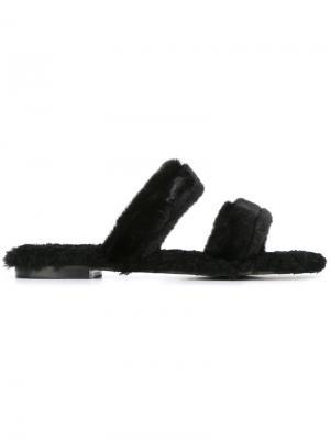 Открытые сандалии Vail Avec Modération. Цвет: чёрный