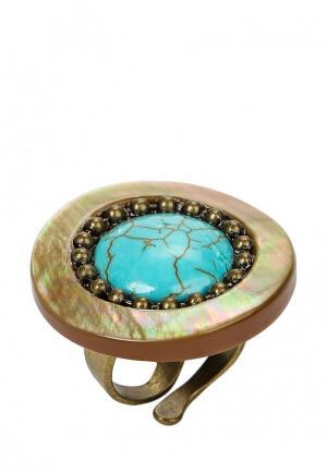 Кольцо Nature bijoux. Цвет: разноцветный