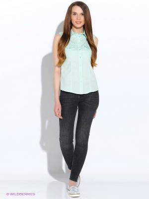 Блузка F5. Цвет: светло-зеленый