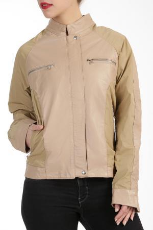 Куртка L.Y.N.N by Carla Ferreri. Цвет: бежевый