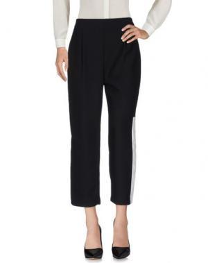 Повседневные брюки TOLÈRANCE. Цвет: черный