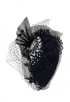 Вуалетка Diana Pavlovskaya. Цвет: синий