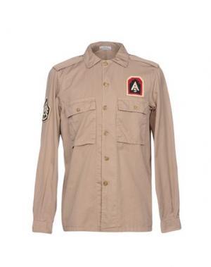 Pубашка ORIGINAL VINTAGE STYLE. Цвет: песочный