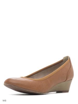 Туфли Tamaris. Цвет: коричневый