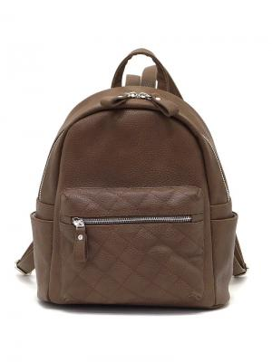 Рюкзак Solo true bags. Цвет: светло-коричневый