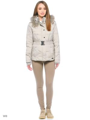 Куртка Fly Girl. Цвет: серый