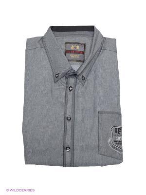 Рубашка IFC. Цвет: серый