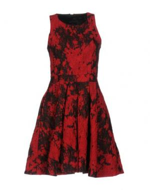 Короткое платье SLY010. Цвет: красный