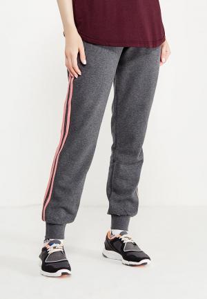 Брюки спортивные adidas. Цвет: серый