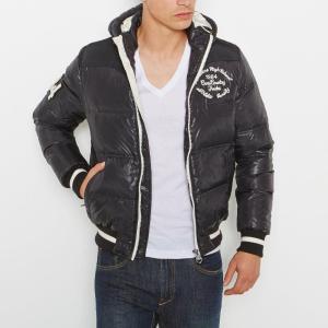Куртка стеганая REDSKINS. Цвет: черный