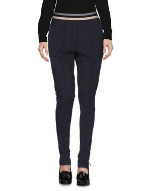 Повседневные брюки UFFICIO 87. Цвет: стальной серый