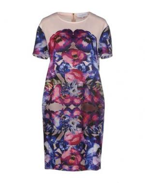 Короткое платье ANNA RACHELE JEANS COLLECTION. Цвет: пурпурный